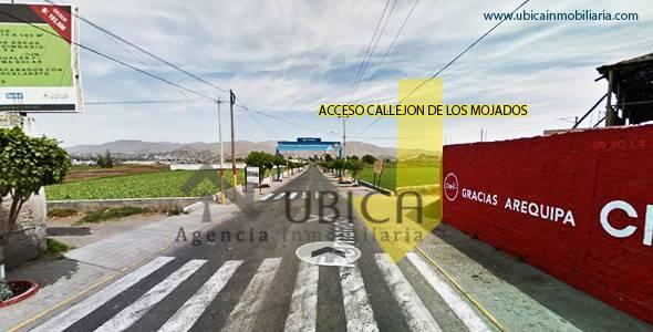 acceso Terreno en venta en Sachaca Urbanización La Planicie