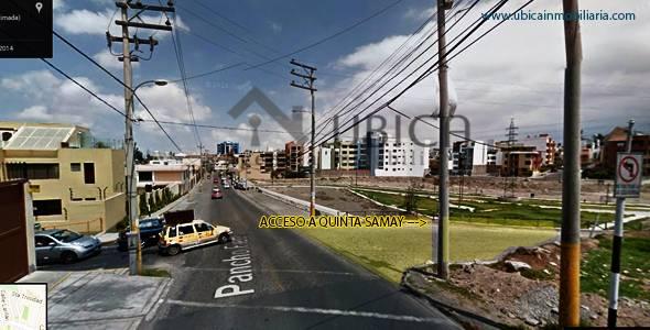 Terreno en venta en cayma Urbanización Quinta Samay