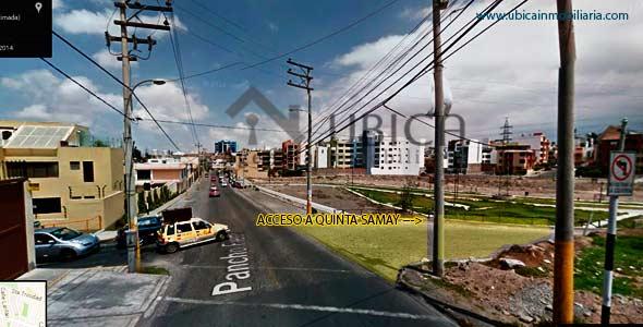 acceso Departamento en venta en Cayma Quinta Samay