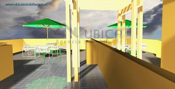 area social Preventa de proyecto departamentos Cerro Colorado Quinta Azores