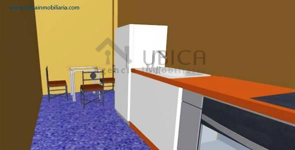 cocina Preventa de proyecto departamentos Cerro Colorado Quinta Azores