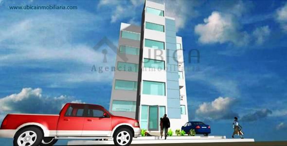 frontis de departamento Preventa de proyecto departamentos Cerro Colorado Quinta Azores