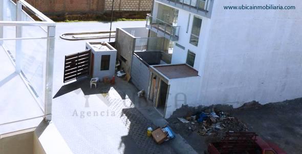 vista aerea entrada Terreno en venta Cerro Colorado Quinta Azores I