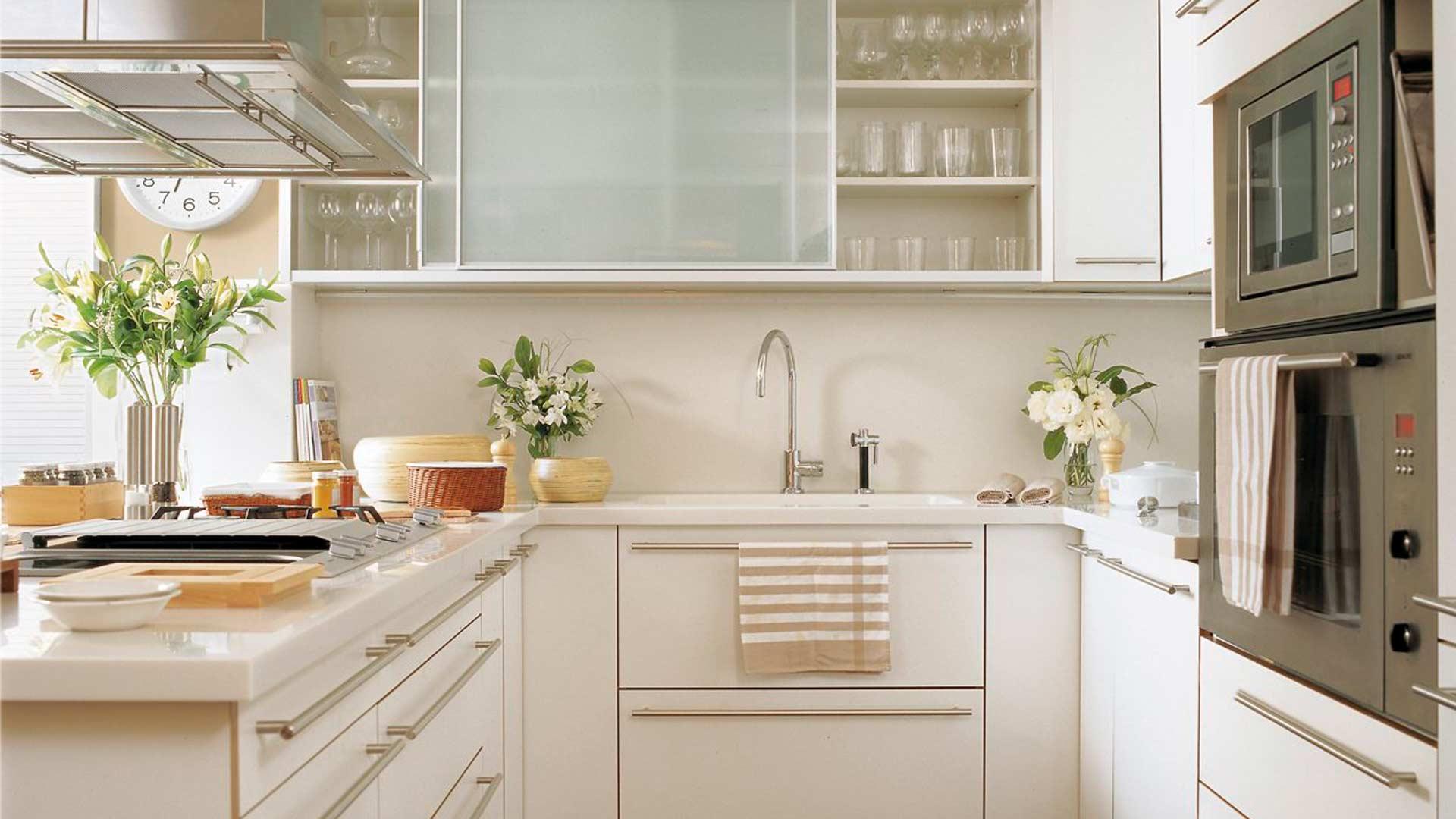 5 tips para decorar cocinas pequeñas