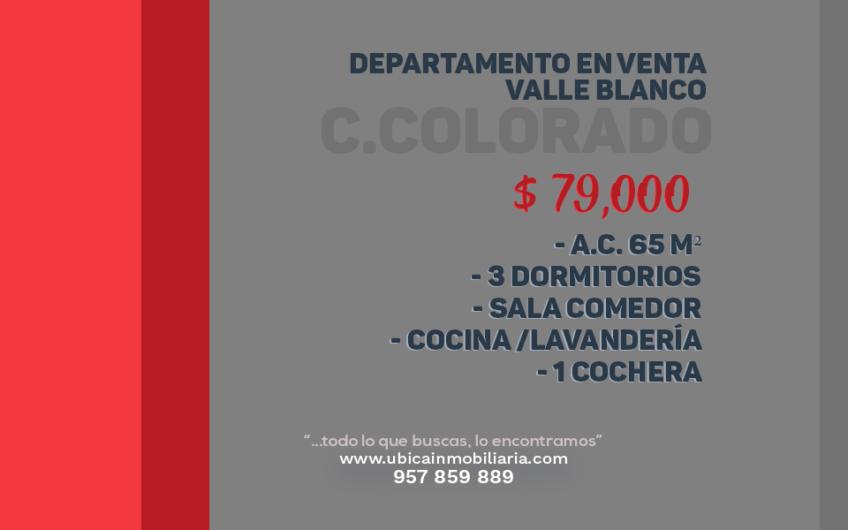 Departamento Valle Blanco en Venta