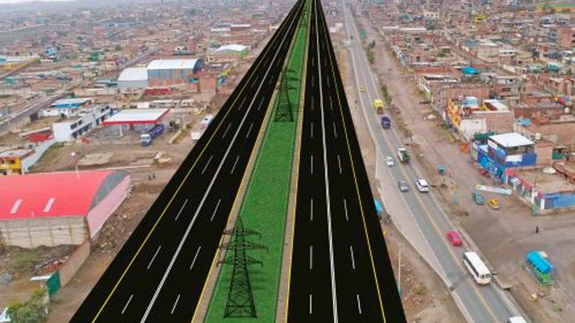 Iniciaron construcción de nueva vía al Cono Norte