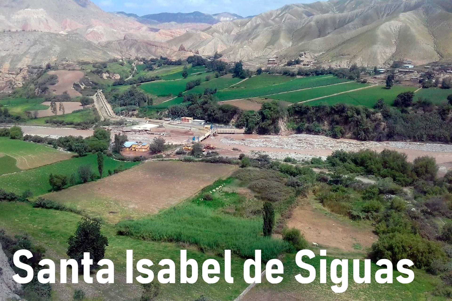 inmobiliarias en Santa Isabel de Siguas