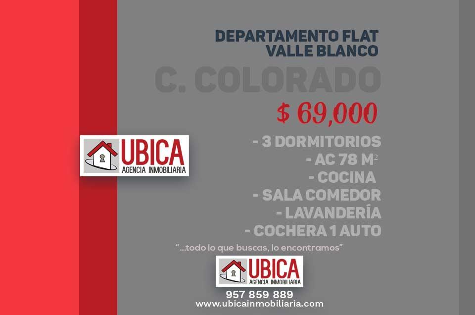 Departamento Flat Valle Blanco