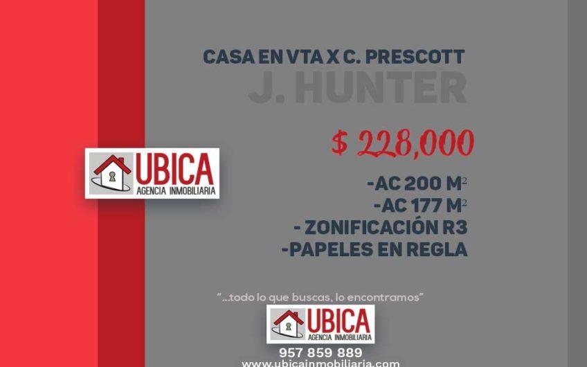 Casa en venta por Colegio Prescott - J. Hunter | UBICA INMOBILIARIA