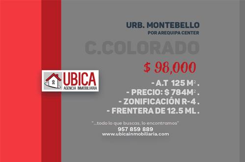 Terreno urbanización Montebello | Cerro colorado